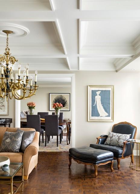 Yorkville Condo - Traditional - Living Room - Toronto - by Kimberley ...