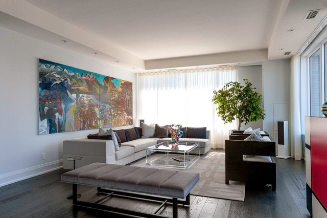 Yorkville Condo - Contemporary - Living Room - Other - by ...