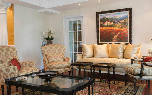Yorkville Traditional Living Room Toronto By Oz