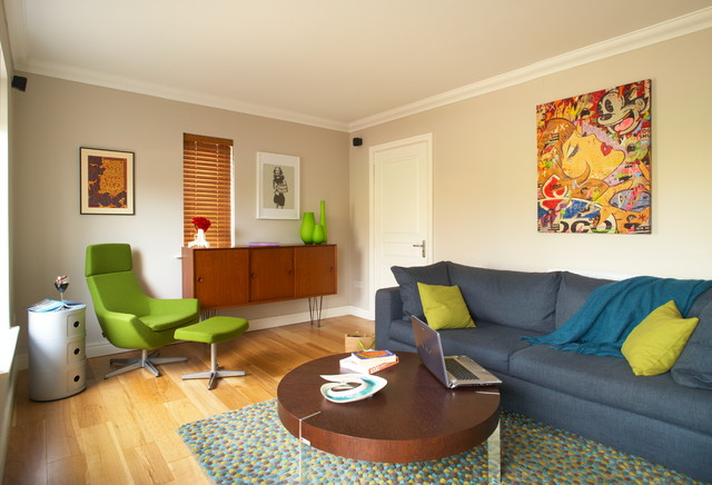 Young Professionals Eclectic Living Room Dublin By