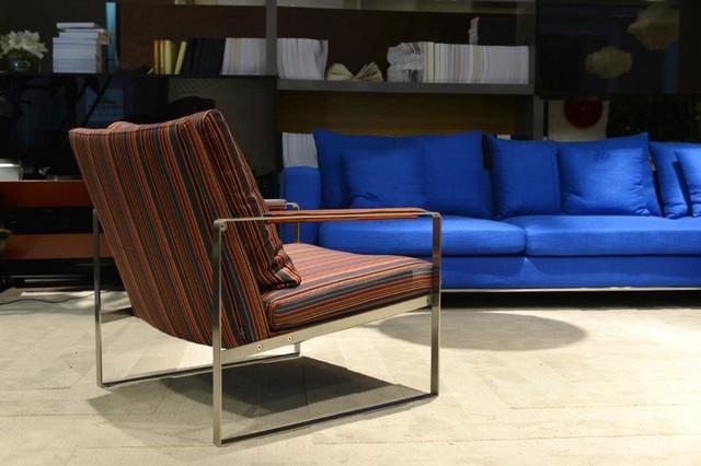 Zara Armchair and Simena Sectional Sofa - Contemporary ...