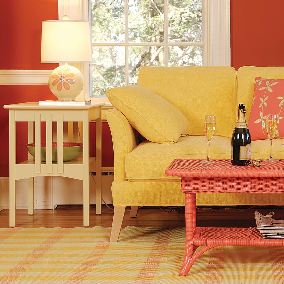 Elegant living room photo in Baltimore