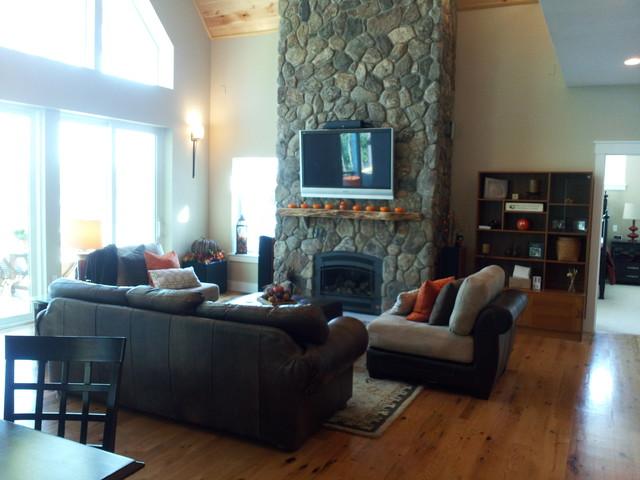 Zemke Residence modern-living-room