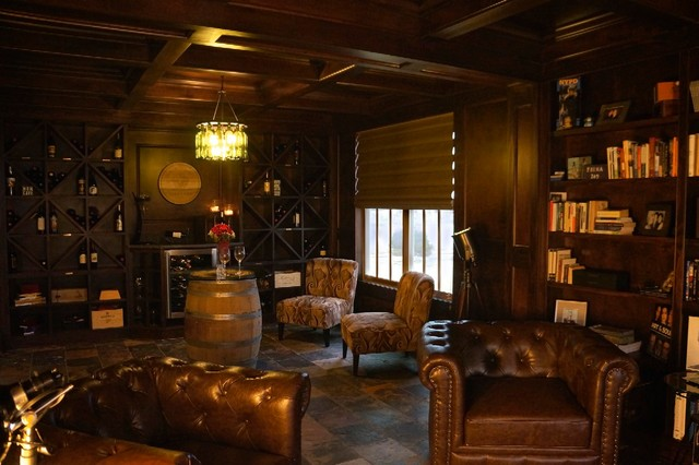 Pleasant Zt Wine Cigar Lounge Transitional Living Room Download Free Architecture Designs Scobabritishbridgeorg