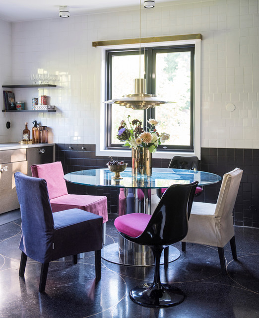 Deco glam eclectic dining room other by bemz design ab for Glam dining room ideas