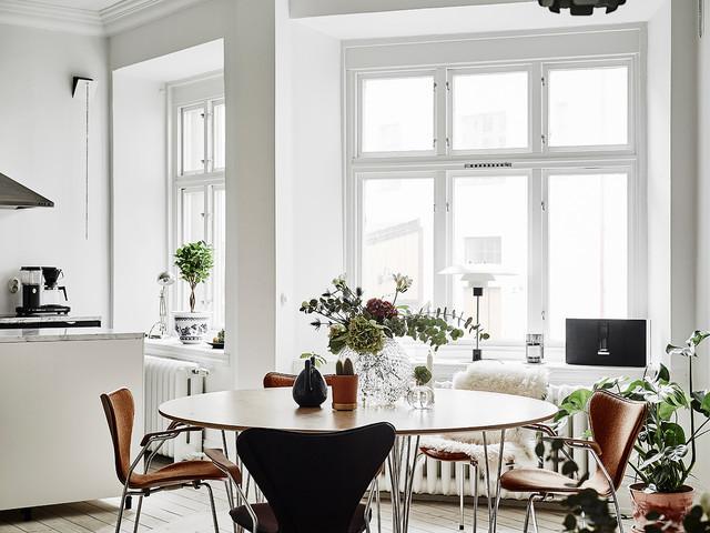 Inspiration kök skandinavisk-spisestue