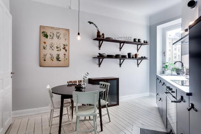 Matplats matplats grå : Foton och inspiration för skandinaviska kök med matplatser, med ...