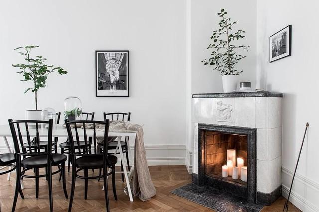 Le 6 combinazioni colore che rendono elegante ogni sala da for Foto sale da pranzo moderne