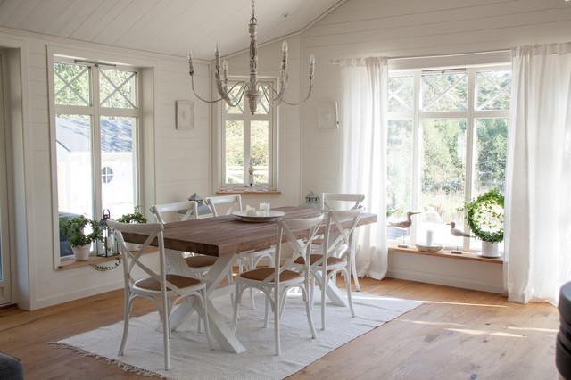 Villa Borgvik Shabby Chic Style Dining Room