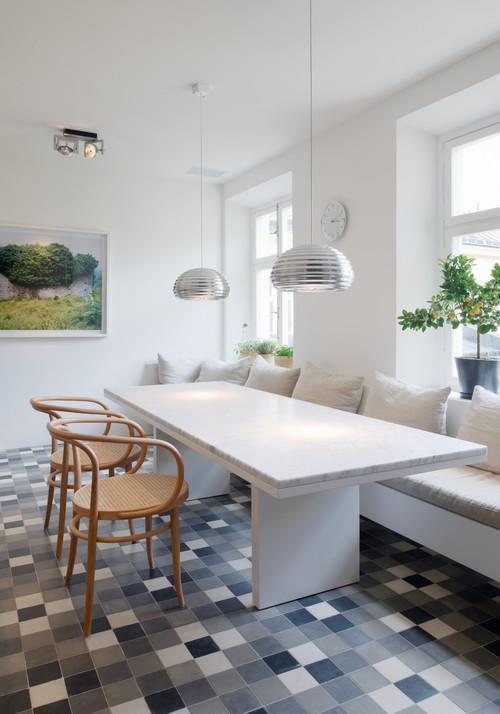Idea to steal: Maßgefertigte Sitzbank in der Küche