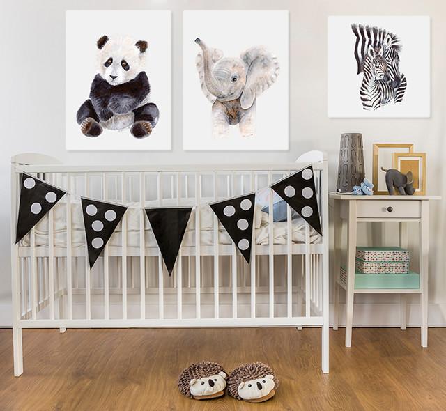 Animal Wall Art For Baby Nursery