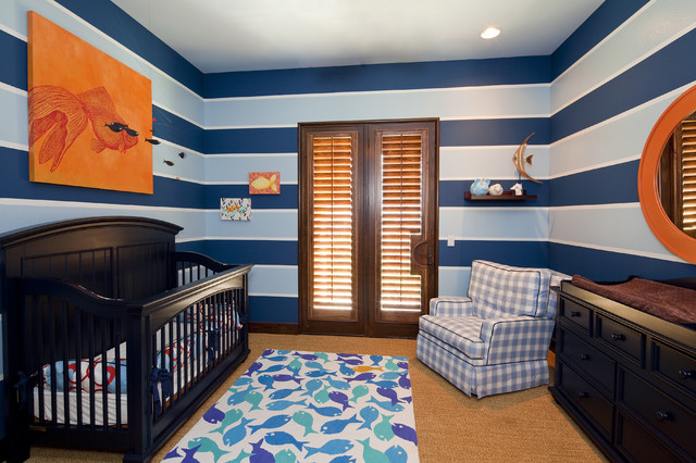 Baby Boy Nursery contemporary-nursery
