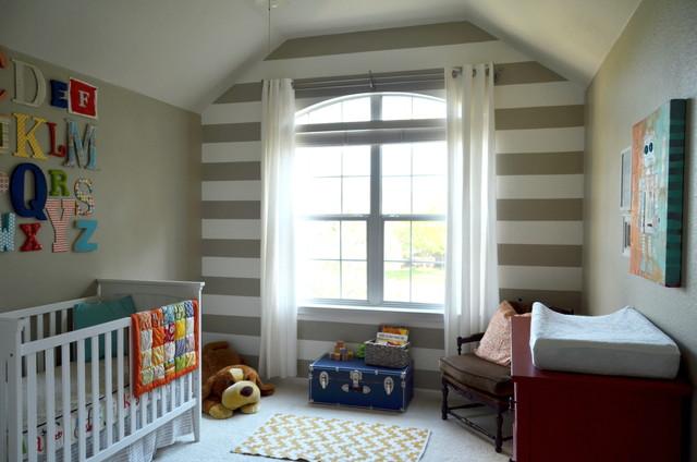 Baby Boy's Room traditional-nursery