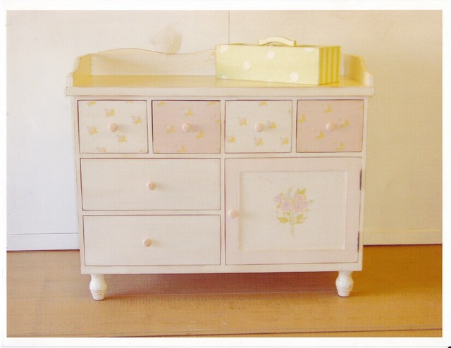 Baby Changing Dresser Traditional Nursery