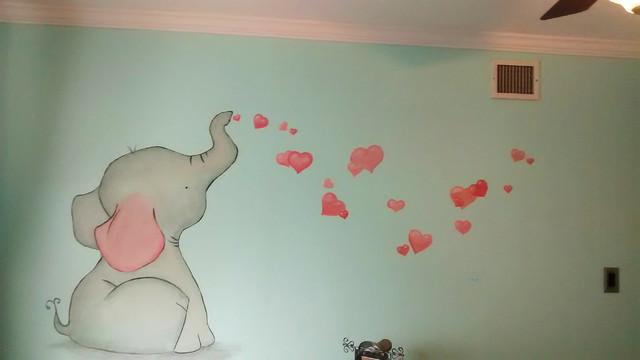 Baby Elephant Room Asian