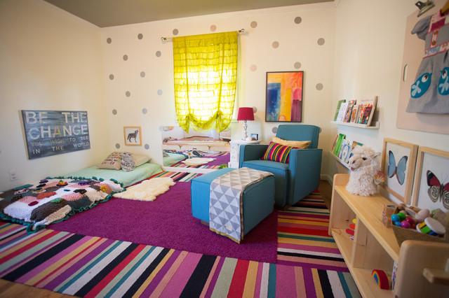 Baby Girl Montessori Nursery Eclectic Nursery San