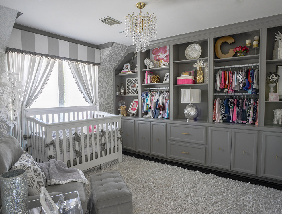 Baby Glam Nursery Transitional