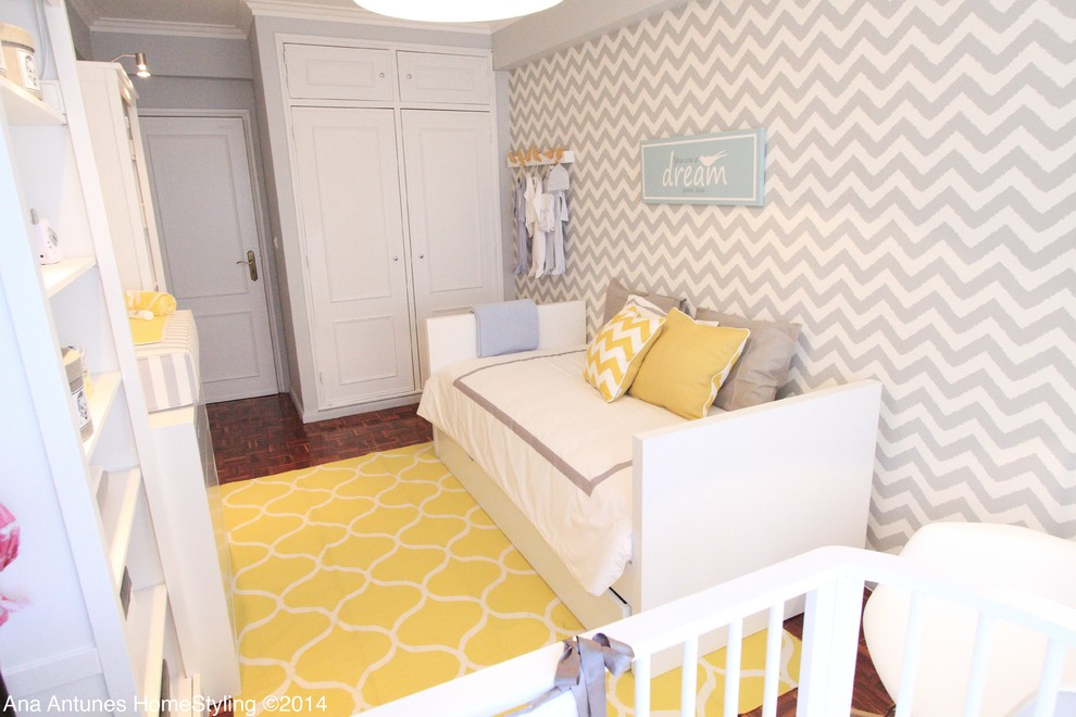 Contemporary nursery in Other.