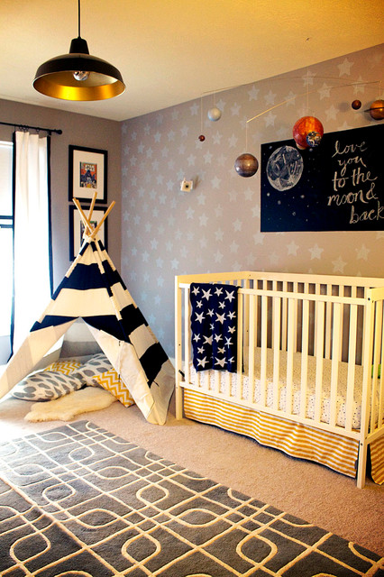 Baby room to boy s toddler room eclectic nursery for Baby boy bedroom ideas uk