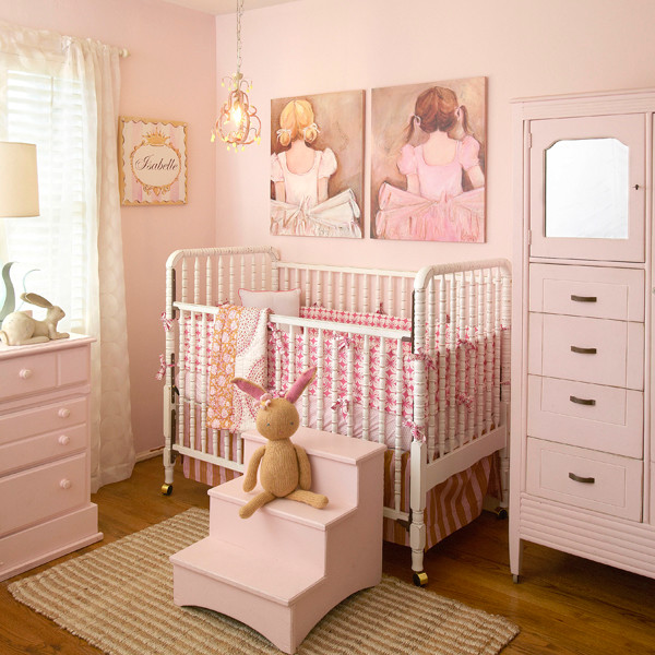 Ballerinas Pretty Pink Nursery Traditional