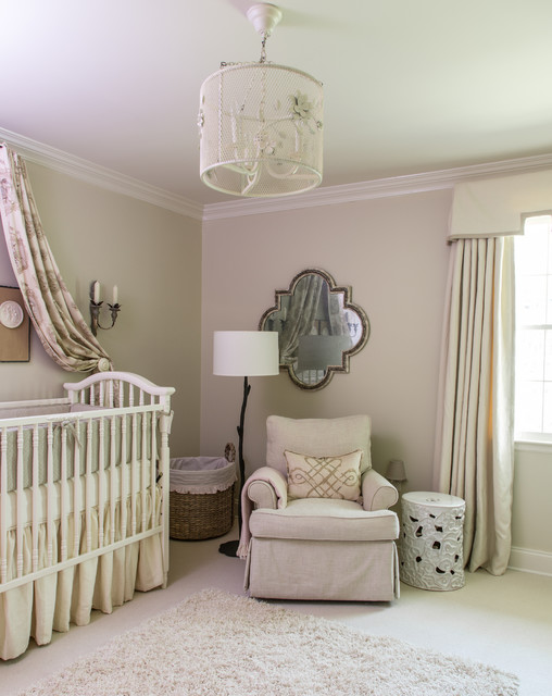 Baton Rouge Ranch Home Traditional Nursery New Orleans By Graci Interiors Llc