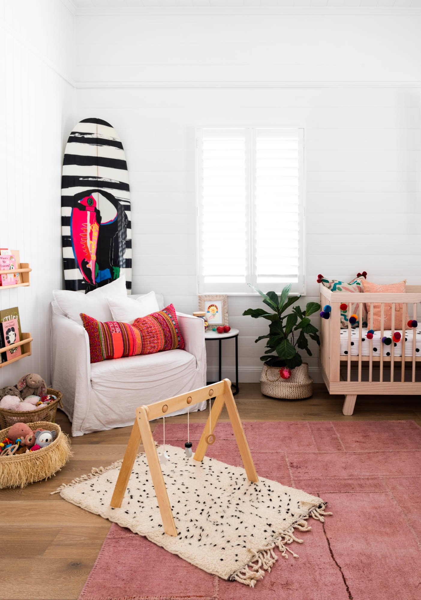 75 Beautiful Nursery Pictures Ideas Color Red February 2021 Houzz