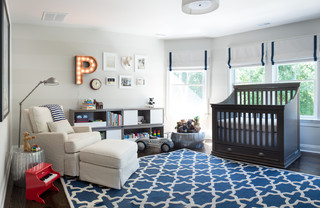 Bedrooms transitional-nursery
