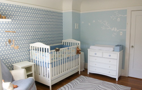 Best Decoration to Baby Rooms contemporary kids