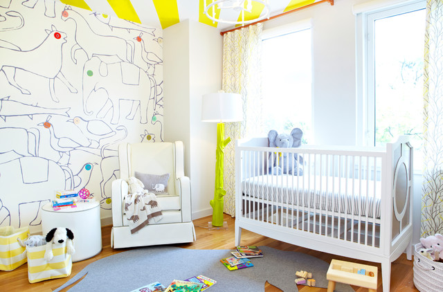 Brooklyn Family Condo contemporary-nursery
