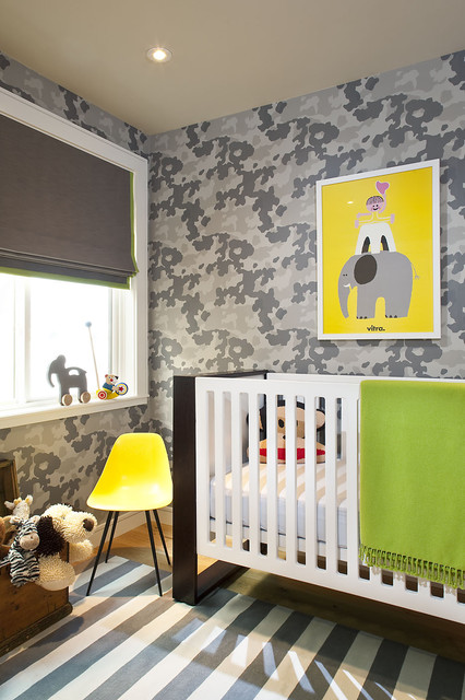 Camo + Color transitional-nursery