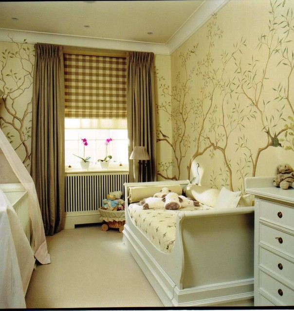 Central london town house traditional nursery london for Interior designers central london