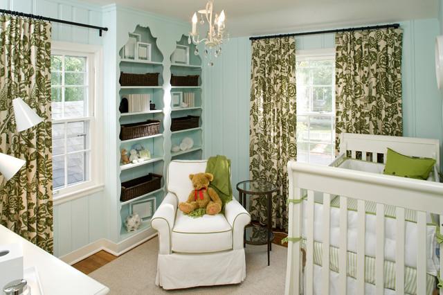 Children's Rooms traditional-nursery