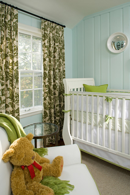 Children's Rooms traditional-nursery