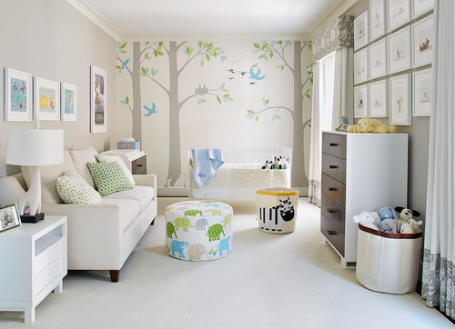 Childrens Bedroom- Interior Design by Taylor Ford Design, San Francisco