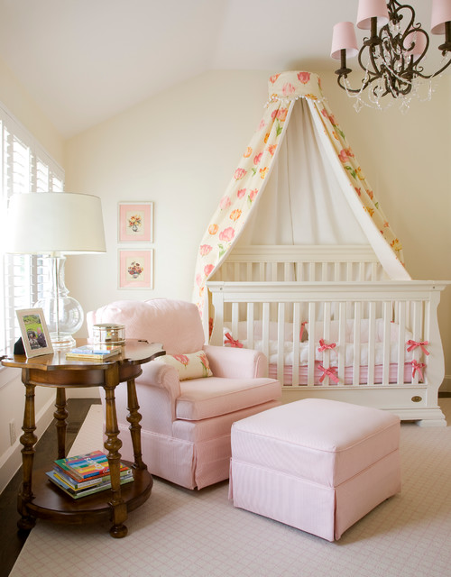 Denver Family Room Traditional Nursery
