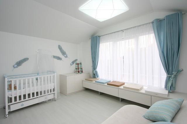 Desert of white sands contemporary-nursery