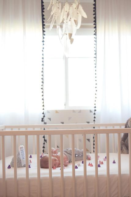 Diamonds And Dreamcatchers Contemporary Nursery