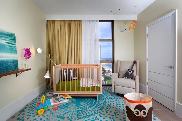 Modern Nursery by DKOR Interiors Inc.- Interior Designers Miami, FL