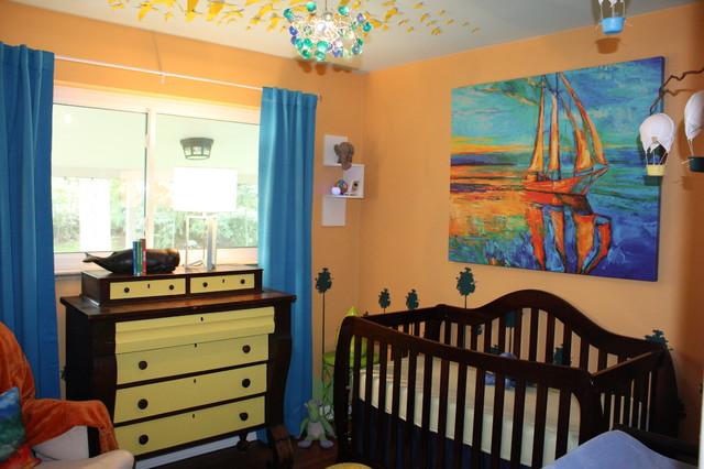 Eclectic Nursery Denver Dreamland Odyssey Boy's Nursery eclectic-nursery