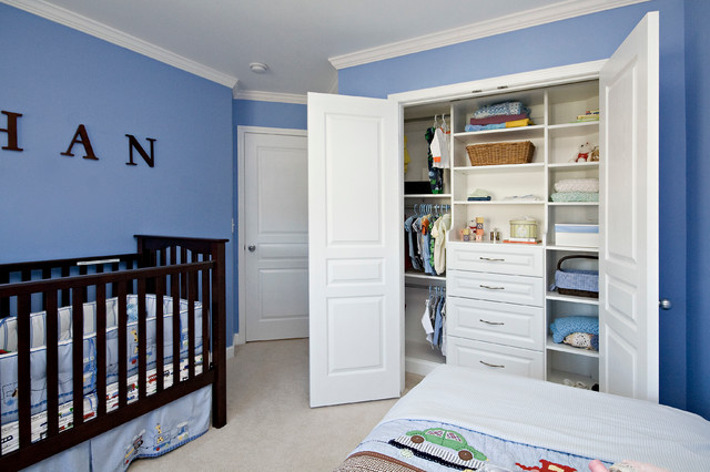 Durham   Solutions For Baby Room With Unique Angles Contemporary Nursery