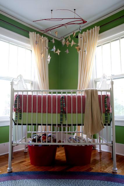 enzo's nursery eclectic-nursery