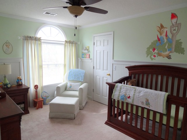 Felix S Peter Rabbit Nursery Traditional Nursery Atlanta