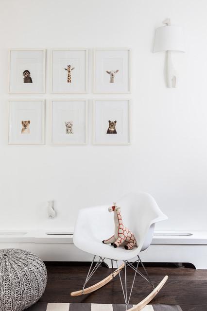 Finn's Animal Nursery contemporary-nursery