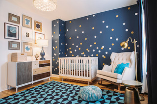 Galaxy Gazer Nursery transitional-nursery