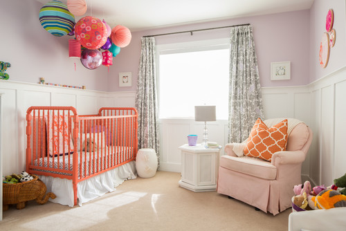 10 reasons to love coral huffpost for Cuartos decorados para bebes