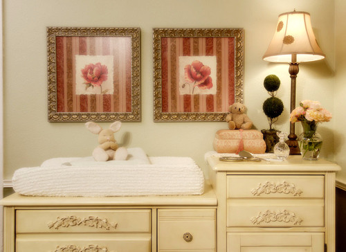 Graces Nursery traditional bedroom