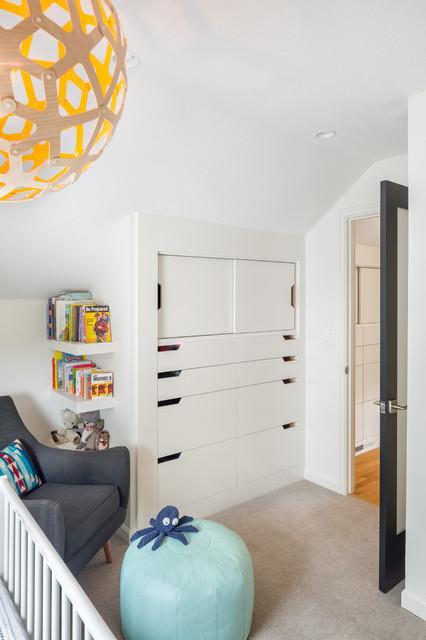 Hurst avenue residence skandinavisch babyzimmer - Babyzimmer skandinavisch ...