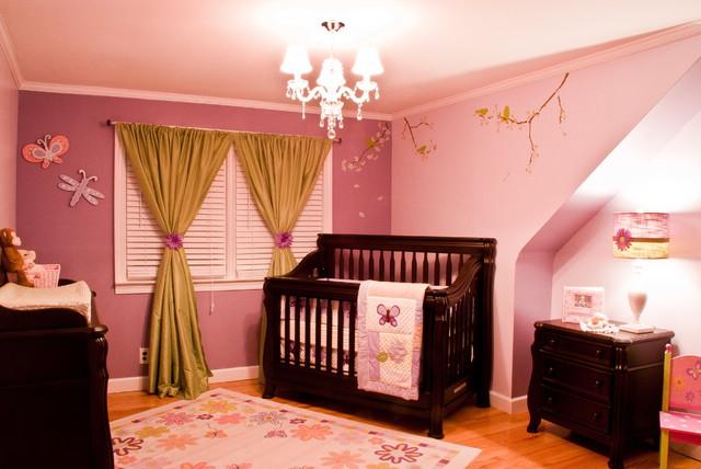Living Spaces contemporary-nursery