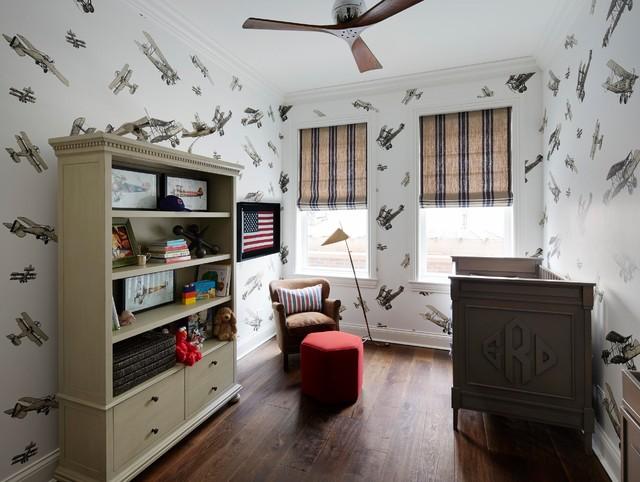 Lonni Paul Chicago Home Design Traditional Nursery