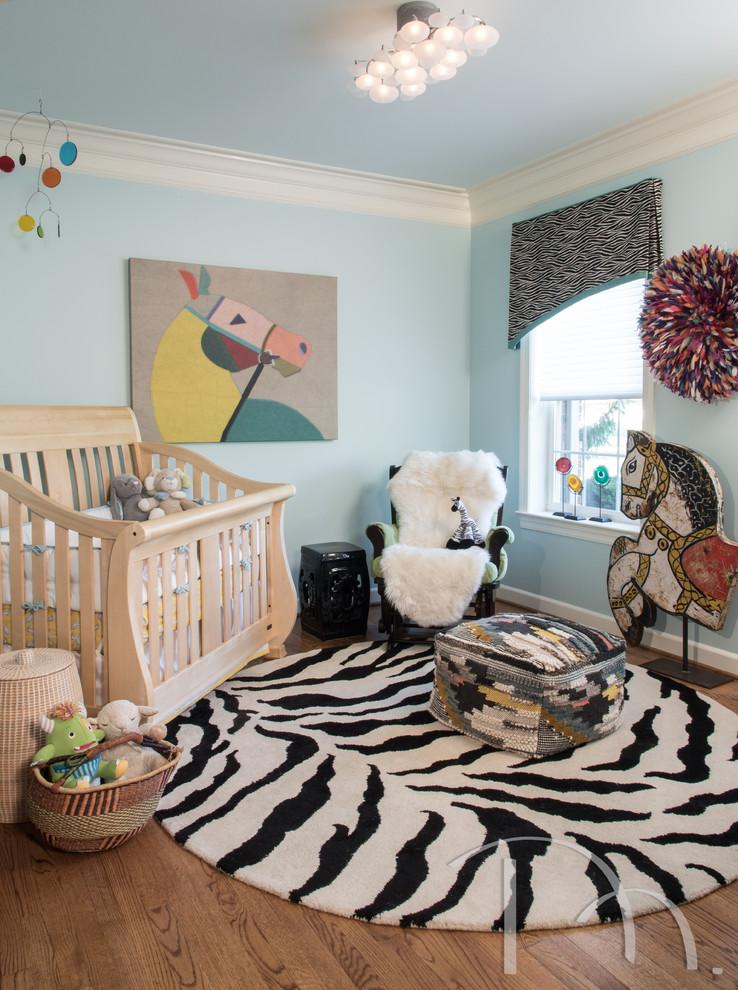 儿童房窗台混搭风格装饰效果图